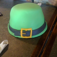 Leprechaun Hat This was for someones Birthday who loves everything Irish! The inside is also a Rainbow!! Took 6 different layers of cake. If I ever do...