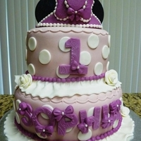 Minnie Princess Cake