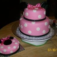 Minnie Mouse W/smash Cake
