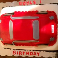 My 1St Car Cake WASC CAKE, MY FAB. CAKE MADE FOR A FRIEND'S SON WHO WAS MAKING 21 Y/O. HE LOVED IT. I STARR WAS HIS FIRST CAR AND HE DOESN'T HAVE...