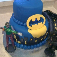 Batman Birthday Cake Batman birthday cake