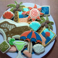 Sugar Cookies Decorated Using Royal Icing Sugar cookies decorated using royal icing.