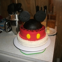 Mickey Mouse Cake I was asked to make a Mickey cake for a friend who absolutely loves Mickey. After several ideas came and went I settled on this as I only...