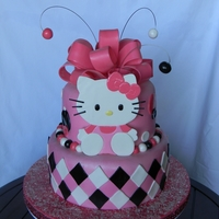 Hello Kitty Birthday Hello Kitty cake for my daughter's 5th birthday. All fondant cake and decorations. LOVE this cake and totally fits my baby girl's...