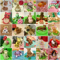 Fondant Animals I was going through my photos today and didn't really realise how many animal figures I've made!! A lot. These are just some of...