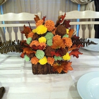Fall! For my mom's 60th birthday! Decided since its in October, why not go with the fall theme!