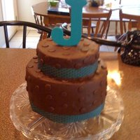 J Is For Jaxon Baby shower cake, chocolate buttercream (wilton brand)