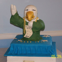 Ihs Eagles Graduation   This cake as designed by my HS graduate and was completely gluten free!