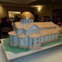 St. Ignatius Ground Breaking  This is a 3-D rendition created for the official ground breaking ceremony for our new church. It is all cake with half of it being...