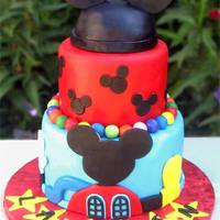 "Mickey Mouse ""Hat"" is cake also."