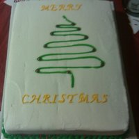 Christmas WASC with vanilla buttercream