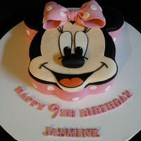 Minnie Mouse Here is my version of this cake. The little girl brought me a picture off the internet and told me it was her dream cake! LOL Thank you to...