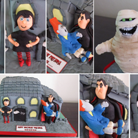 Hotel Transylvania Cake This was made for my daughter's best friend who absolutely loves the movie.