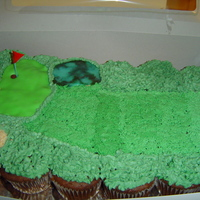 Cupcake Pull Apart Golf course