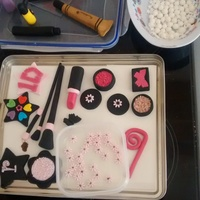 Fondant Make Up Figures Xx Fondant Make Up Figures Xx