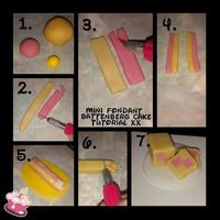 Mini Fondant Battenberg Cake Tutorial Xx Mini Fondant Battenberg Cake Tutorial Xx