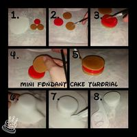 Mini Fondant Cake Tutorial Xx Mini Fondant Cake Tutorial Xx