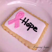 Ribbons For Hope Cookies for Cousin Jay.