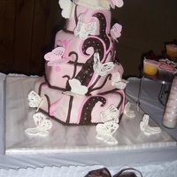 Kindreas Butterfly Wedding Cake