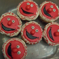 Elmo Cupcakes These went with Aaron's birthday cake.