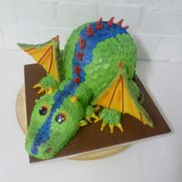A Dragon Cake For Little Daan A Lot Of Blood Sweat And Cirkels A dragon cake for little Daan. A lot of blood, sweat and cirkels ;-)
