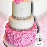Courtney Mazza Bridal Shower  This cake was made for Courtney Mazza, a broadway dancer/actress, who is soon to marry Mario Lopez. TLC filmed the shower, and we'll...