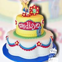 Caillou 2Nd Birthday   All fondant, for a little girl