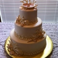 Sea Shell Wedding Cake