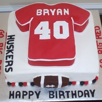 40Th Football Jersey Birthday