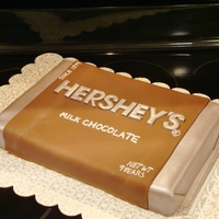 Hershey's Chocolate Bar Cake Hershey's Chocolate bar cake for one of Megan's friends who loves everything chocolate. Of course, the cake, frosting and even...