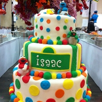 Sesame Babies This was actually for a Bris, the theme was Sesame Street...