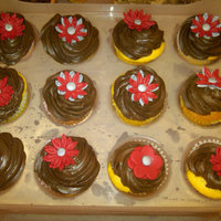 Birthday Flower Cupcakes