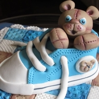 Bear In A Shoe