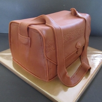 Purse Cake  First time I made a purse cake and I love it ! Just used a 25x25cm cake, cut in half and put the two parts upright. Filled it 4 times with...