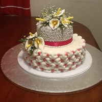 Made Cake For Bosss Mother In Law Everything Edible Except Babys Breath And Ribbon Tfl Thank You For Any Positive Feedback Or Construct Made cake for boss's mother in law. Everything edible except baby's breath and ribbon. TFL Thank you for any positive feedback or...
