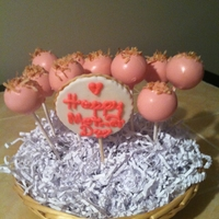Mother's Day Cake Pops