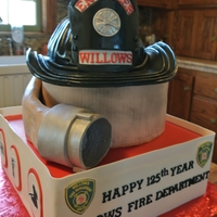 Firehouse Celebration  Many thanks to mom2twogrlz and tyusha for their help and expertise in creating these cakes. Hat fashioned after an antique helmet housed at...
