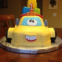Truck Cake This was for my grandson 1st Birthday. Idea from pictures on cake central