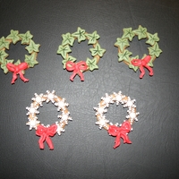 Cookies On Cookies little plungercutter cookies in a wreath