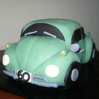 Vw Beetle My cousin lives in WA I live in CA couldn't make her 60th BD party, so I made her a cake and she gets the picture! Ha! She had this...