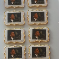 President Barack Obama And Mlk, Jr. For Black History Month President Barack Obama and Martin Luther King, Jr sugar cookies for Black History Month (sugar cookie covered in royal icing with edible...