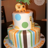 King Of Jungle! Baby Shower Cake :)