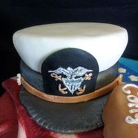 Naval Retirement Cake