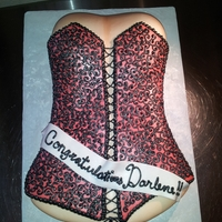 Its A Bit Risque....but Fun the cake is 100% edible and all hand piped.