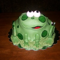 Frog/toad Cake