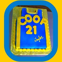 The Basketball Shirt Cake