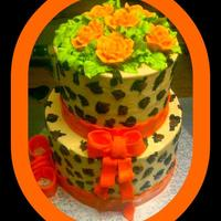 The Cheetah Cake