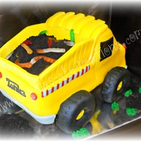 Tonka Truck Cake This was one huge cake!!!