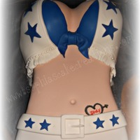 Dallas Cowboy Cheerleader I made this for my stepdads birthday! He loves the Dallas Cowboys and loves those cheerleaders too!! LOL!
