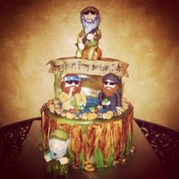 Duck Dynasty Cake 100 Edible Duck Dynasty cake 100% edible